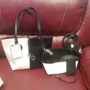 NWT 2 Way Tote w/Xbody & Power Bank Final Price
